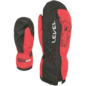 Level Dudy Mittens Kids, red
